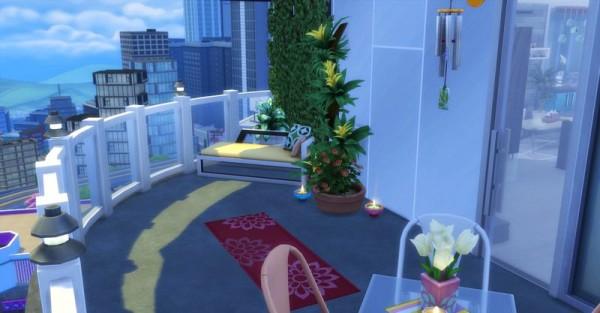 Sims Artists: Apartament Minouchou