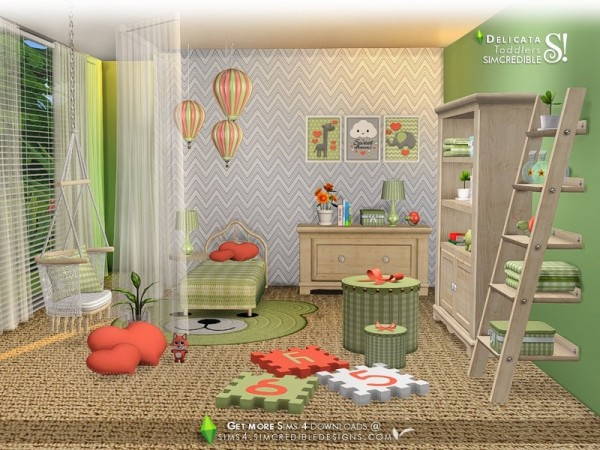 The Sims Resource: Delicata toddlers by SIMcredible!