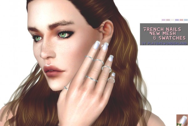 Players Wonderland: French Nails