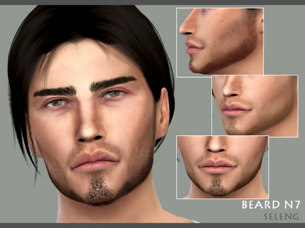 The Sims Resource: Beard N7 by Seleng