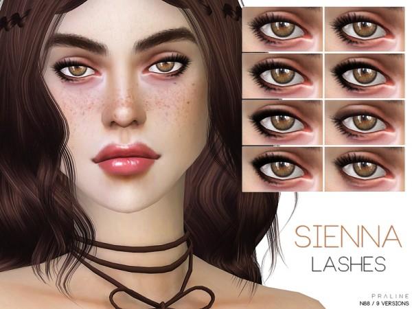 The Sims Resource: Sienna Eyeliner N88 by Pralinesims