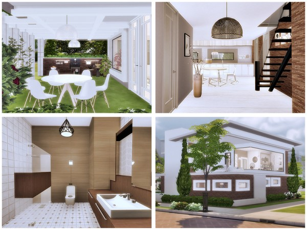 The Sims Resource: Malibu 2 house by Danuta720