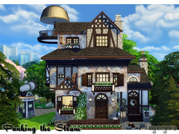 The Sims Resource: Punking the Steam house by Degera