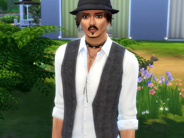 The Sims Resource: Johnny Depp by Jolea