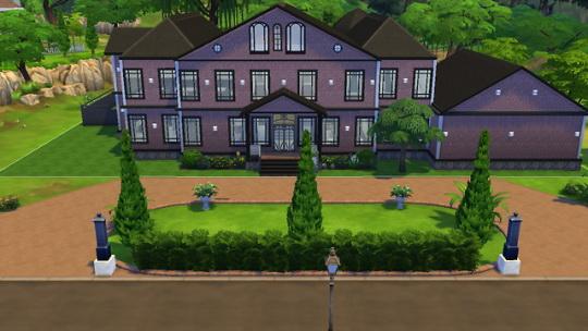 Rachel Sims: Perthshire Mansion