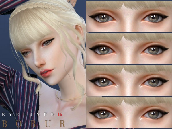 The Sims Resource: Eyeliner 16 by Bobur