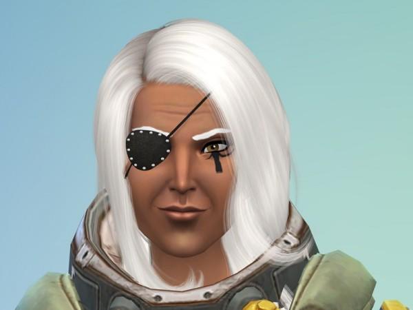 The Sims Resource: Ana Eye of Horus Tattoo Overwatch by pocketfullofcat