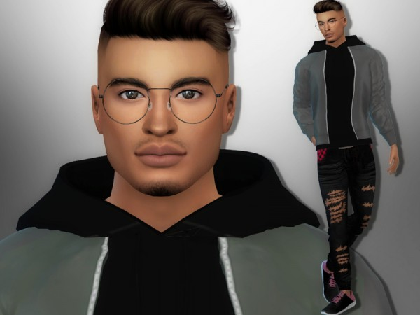 The Sims Resource: Charlie Chester by divaka45