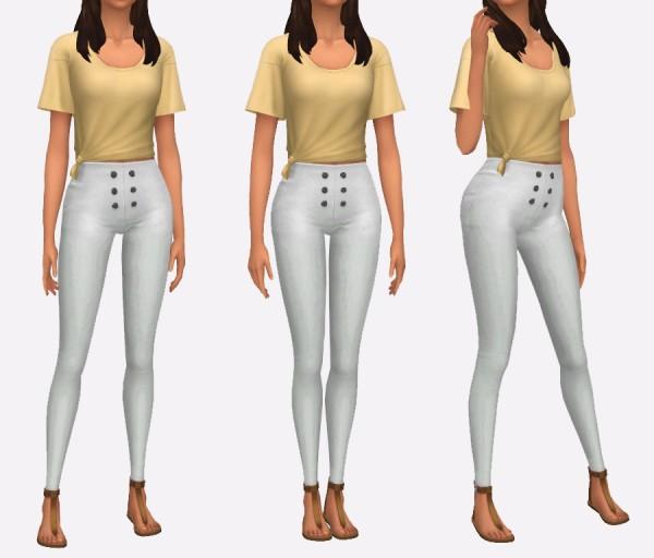 Simista: High Waisted Pants