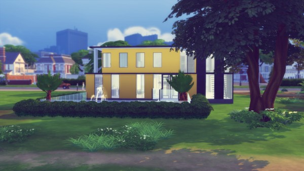 Simming With Mary: Lower Meadow house