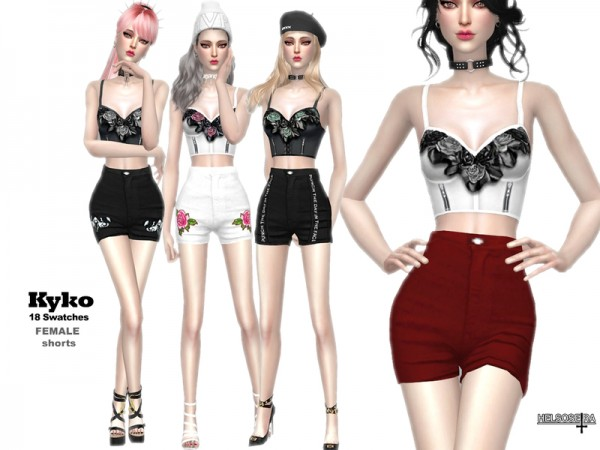 The Sims Resource: KYKO   Shorts by Helsoseira