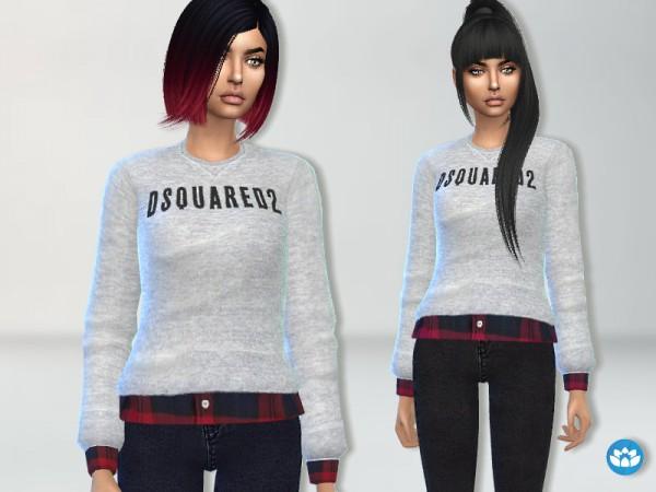 The Sims Resource: Designer Sweatshirt by Puresim