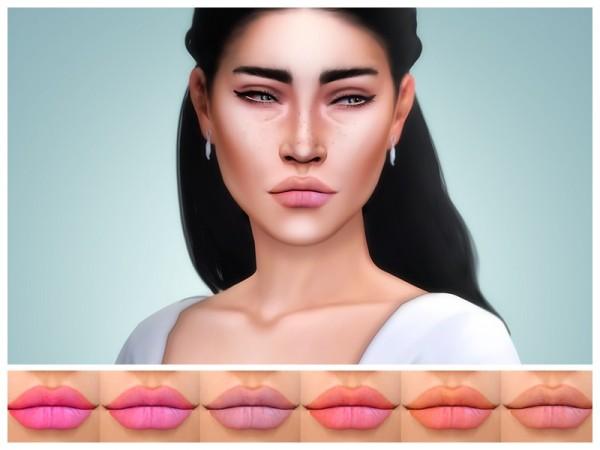 The Sims Resource: Levia Lipstick by KatVerseCC