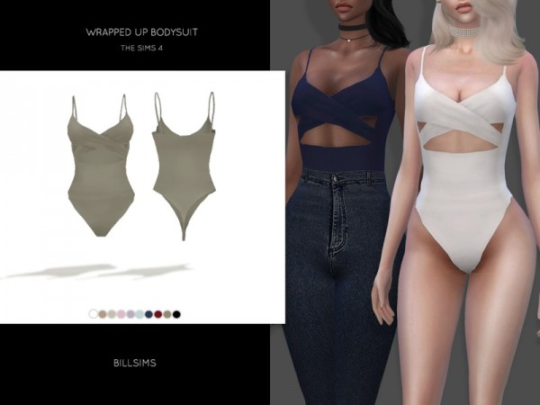 The Sims Resource: Wrapped Up Bodysuit by Bill Sims