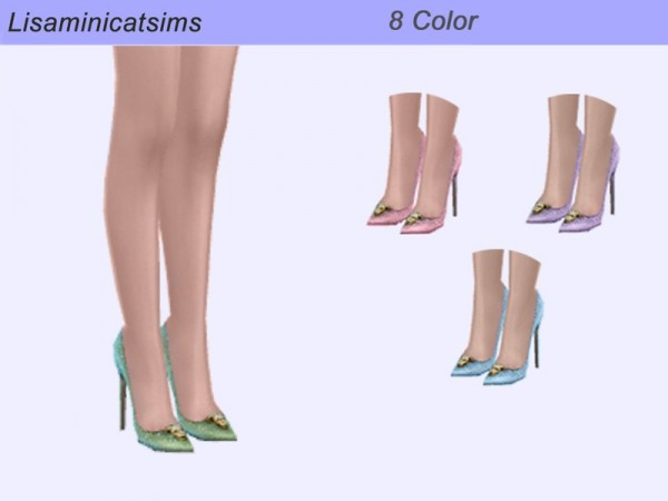 The Sims Resource: Madlen Blaise Shoes Retextured by Lisaminicatsims