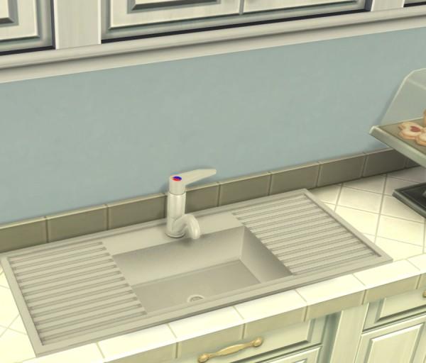Simlish Designs: Sleek Kitchen Sink