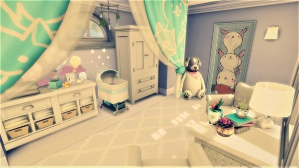 Agathea k: Probably it will be a boy   room
