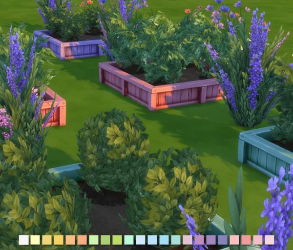Simlish Designs: Garden Planters in Additional Colours