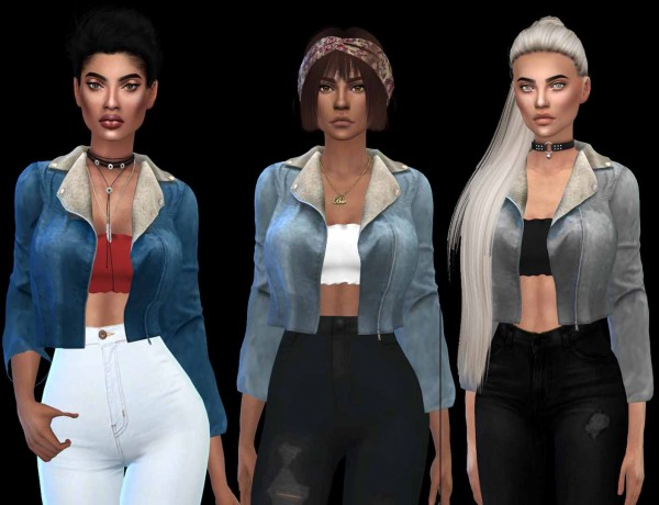 Leo 4 Sims: Jean outfit