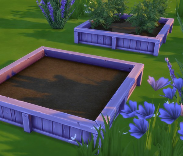 Simlish Designs: Garden Planters in Additional Colours