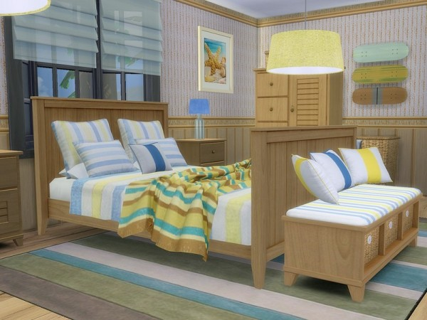 The Sims Resource: Beach Time 2 house by MychQQQ