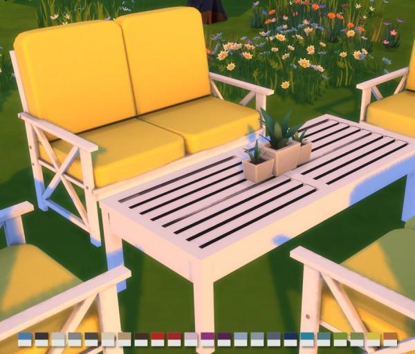 Simlish Designs: Alveranda Outdoor Setting