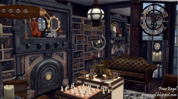 Frau Engel: Steampunk House