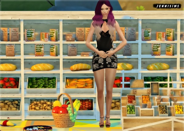 Jenni Sims: Marketplace Food Decor