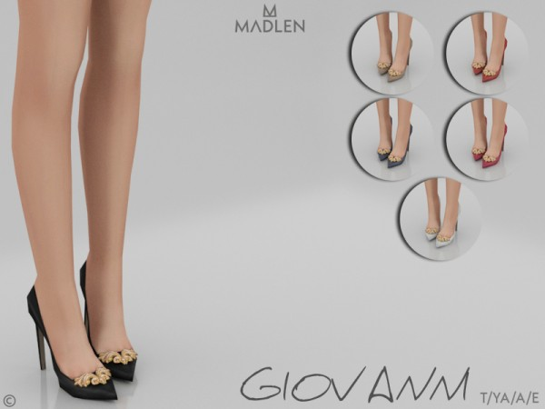 The Sims Resource: Madlen Giovanni Shoes by MJ95