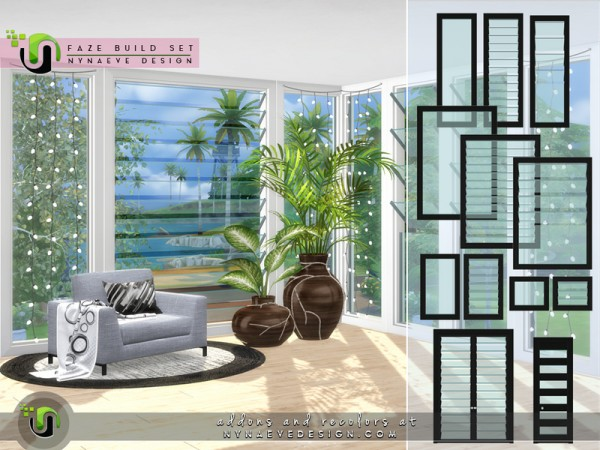 The Sims Resource: Faze Build Set by NynaeveDesign