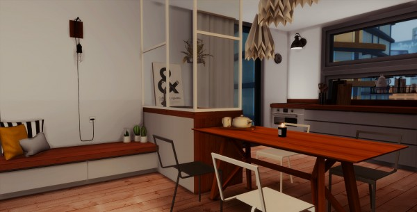 Simsworkshop: Like We Used To apartment by catsblob