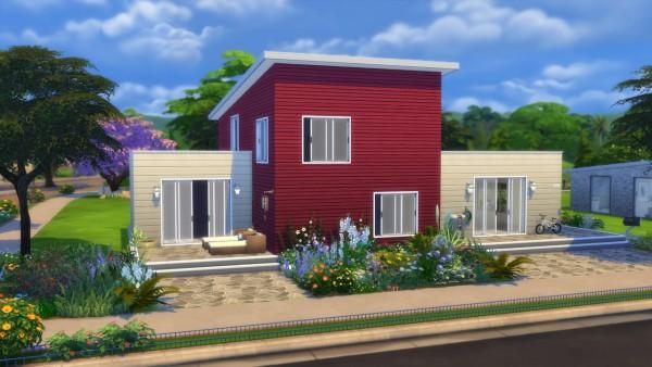 Models Sims 4: Newport house