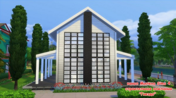 Sims 3 by Mulena: The house of Zhora