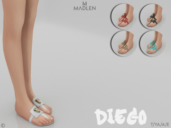 The Sims Resource: Madlen Diego Shoes by MJ95