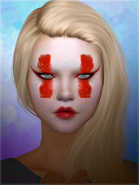 Jenni Sims: Makeup EyeShadow Kabuki Red