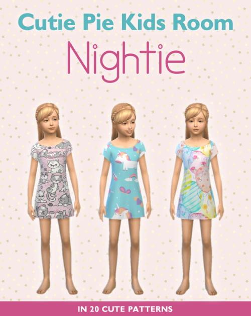 Simplistic: Cutie Pie Nightie