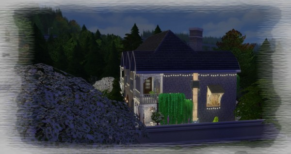 Les Sims 4 Passion: The Discreet house