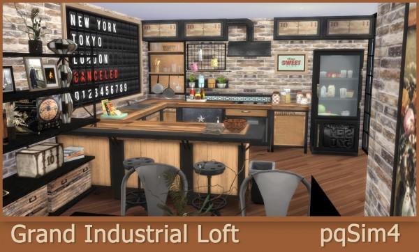 PQSims4: Grand Industrial Loft