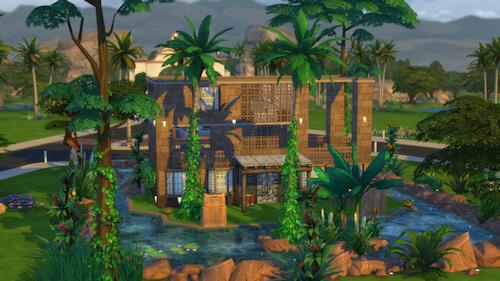 La Luna Rossa Sims: In the Lake house