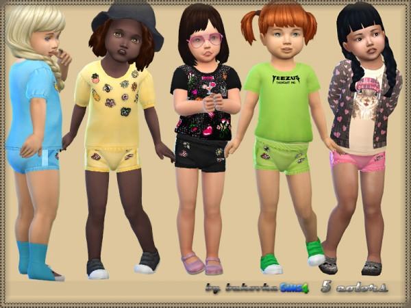 The Sims Resource: Short and Rhinestone by bukovka