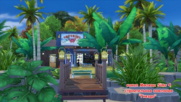 Sims 3 by Mulena: Restaurant Blue Lagoon