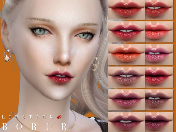 The Sims Resource: Lipstick 49 by Bobur