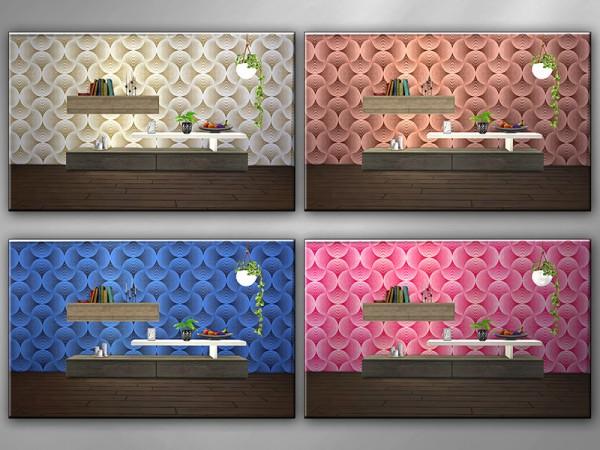 The Sims Resource: Stylish Stucco R  walls by matomibotaki