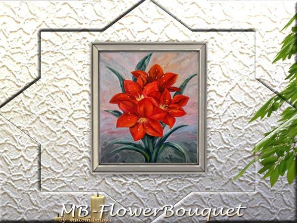 The Sims Resource: Flower Bouquet by matomibotaki