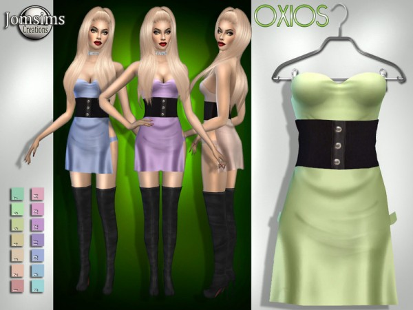 The Sims Resource: Oxios dress by jomsims