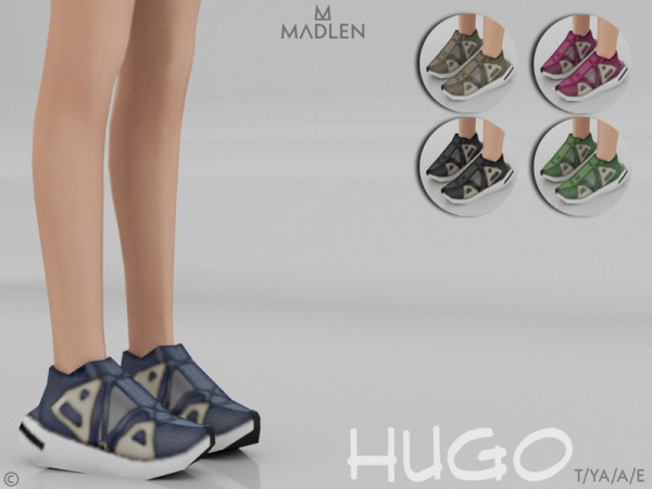 The Sims Resource: Madlen Hugo Shoes by MJ95