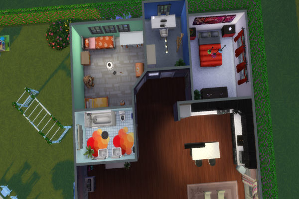 Blackys Sims 4 Zoo: Jewel hindquarters house by  xenia491