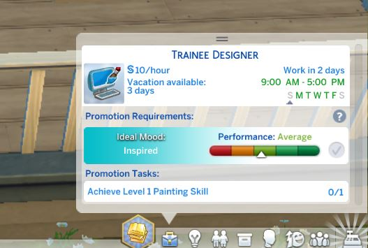 Mod The Sims: Graphic Designer Career by yusril