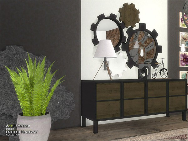 The Sims Resource: Enfield Hallway by Artvitalex