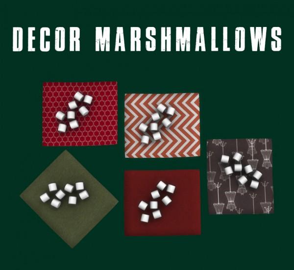 Leo 4 Sims: Decor Marshmallows